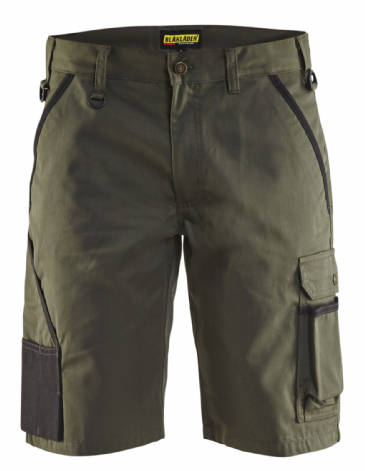 "CLEARANCE Blaklader 1464 Garden Shorts (Army Green) C50 34""W"